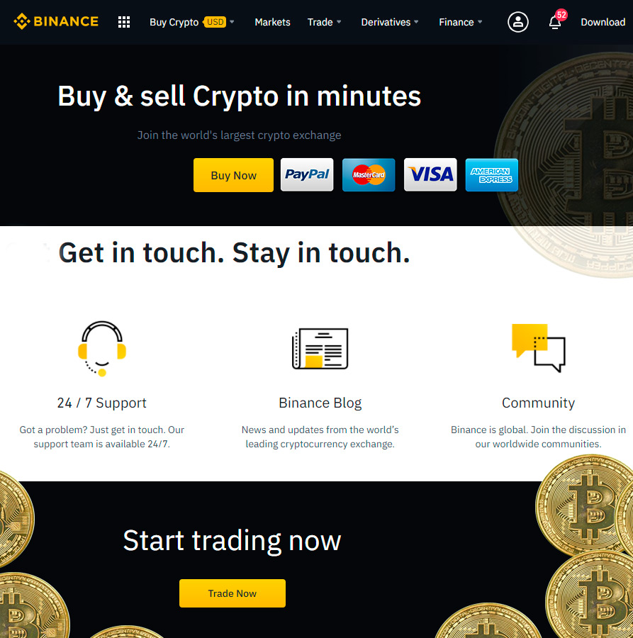 Buy Binance Coin in usa without verification
